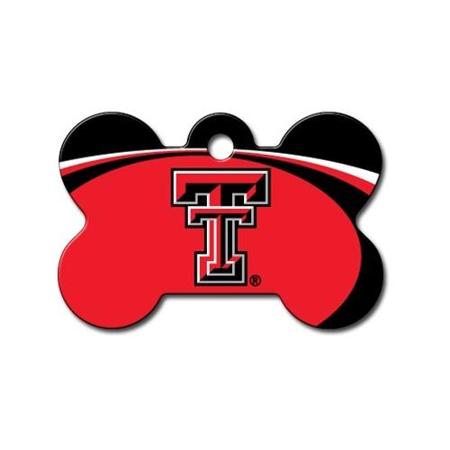 Texas Tech Red Raiders Bone Id Tag - National Fur League