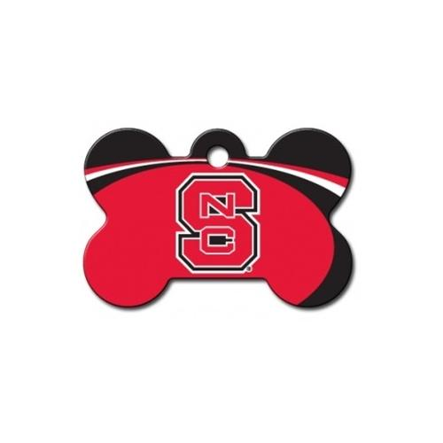 Nc State Wolfpack Bone Id Tag - National Fur League