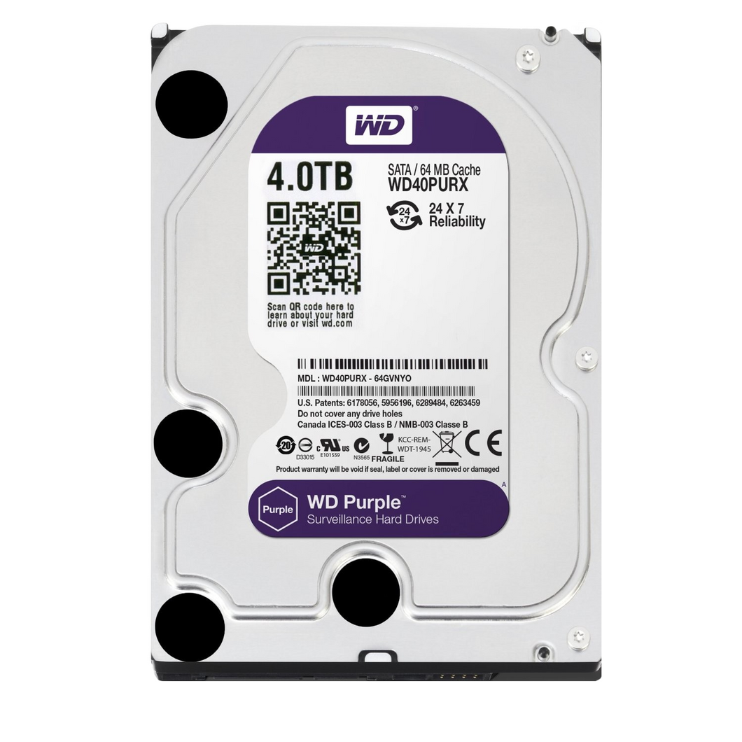 Western Digital - 4TB Surveillance HDD