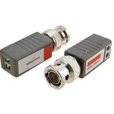 Video Balun 2 pairs- Connectors