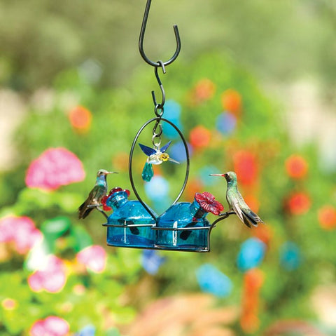 Bouquet® 2 Deluxe Hummingbird Feeder