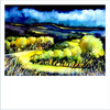 Brecon Beacons landscape print by Janet Weight Reed