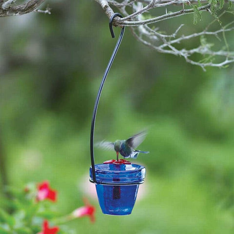 Flower Pot™ Hummingbird Feeder - Hanging