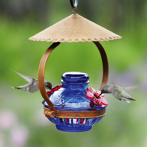 Pot de Crème™ Shelter Hummingbird Feeder