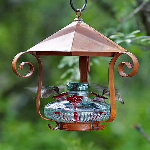 Bloom™ Shelter Hummingbird Feeder