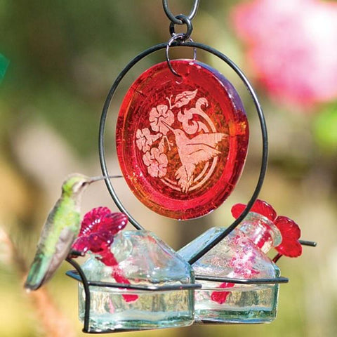 Bouquet® Deluxe Medallion Hummingbird Feeder
