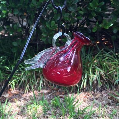Pixie Hummingbird Feeder - On a Stake