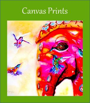 Canvas Prints by Artist Janet Weight Reed