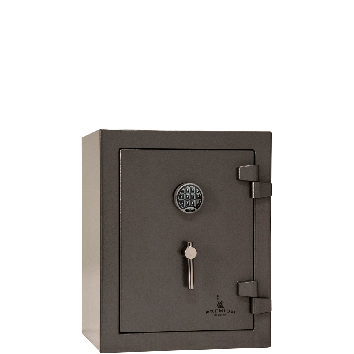 "Premium Home | 08 | 90 Minute Fire Protection | Gray | Electronic Lock | Dimensions: 30""(H) x 24""(W) x 22.5""(D)"