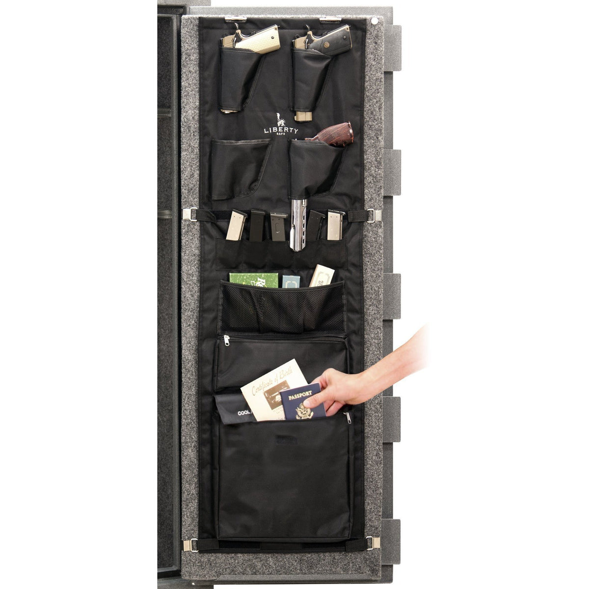 Accessory - Storage - Door Panel - 18 size safes