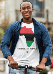 Africa Men Short Sleeve T-Shirt