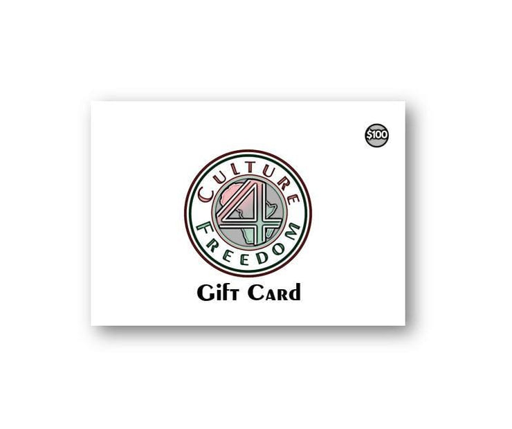 Culture 4 Freedom Gift Card