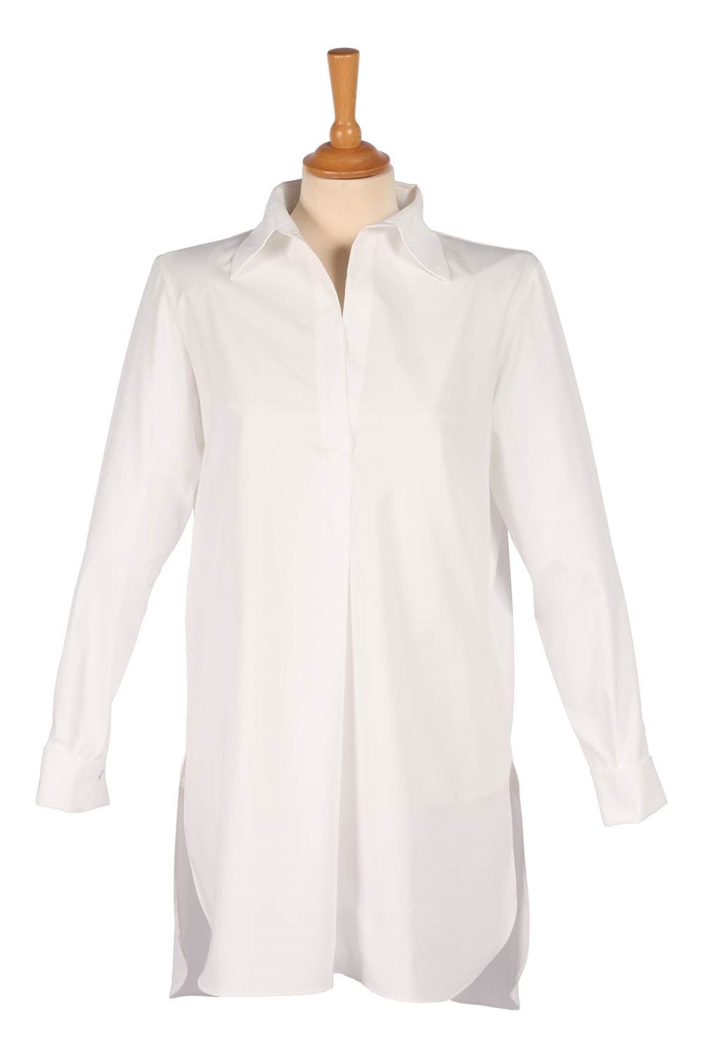 Long Shirt White - Jenny M. London  - 1