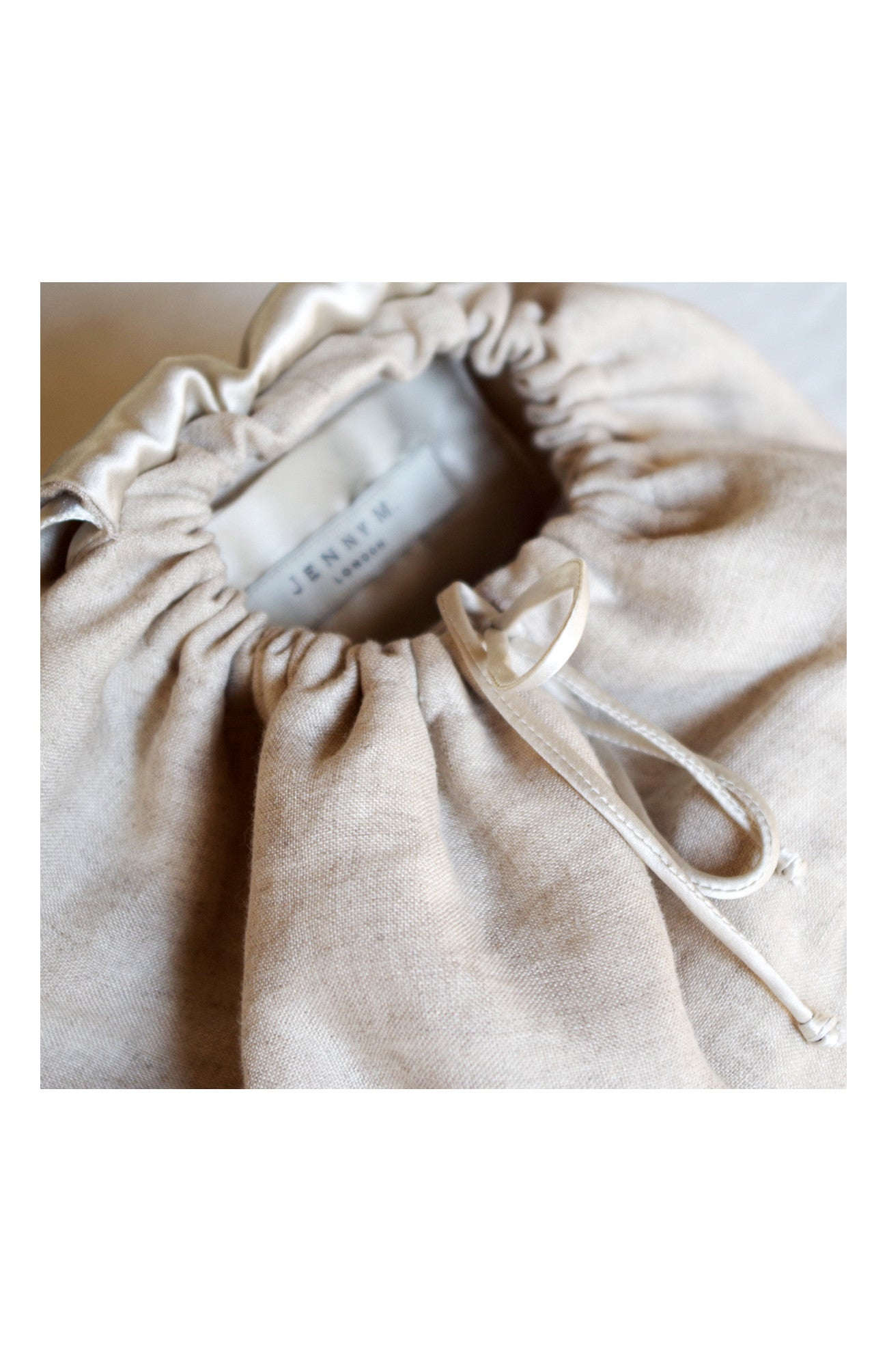 Mini Rucksack Linen Natural - Jenny M. London  - 2