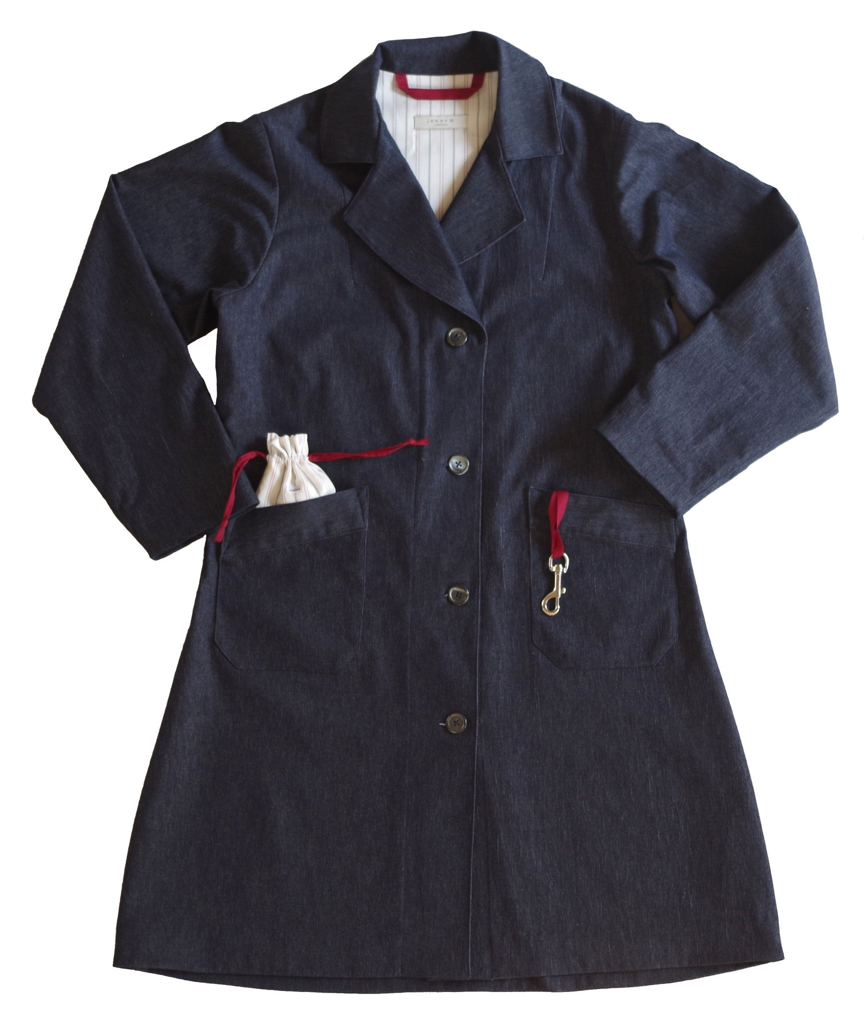 New Liberation Coat Denim - Jenny M. London  - 2