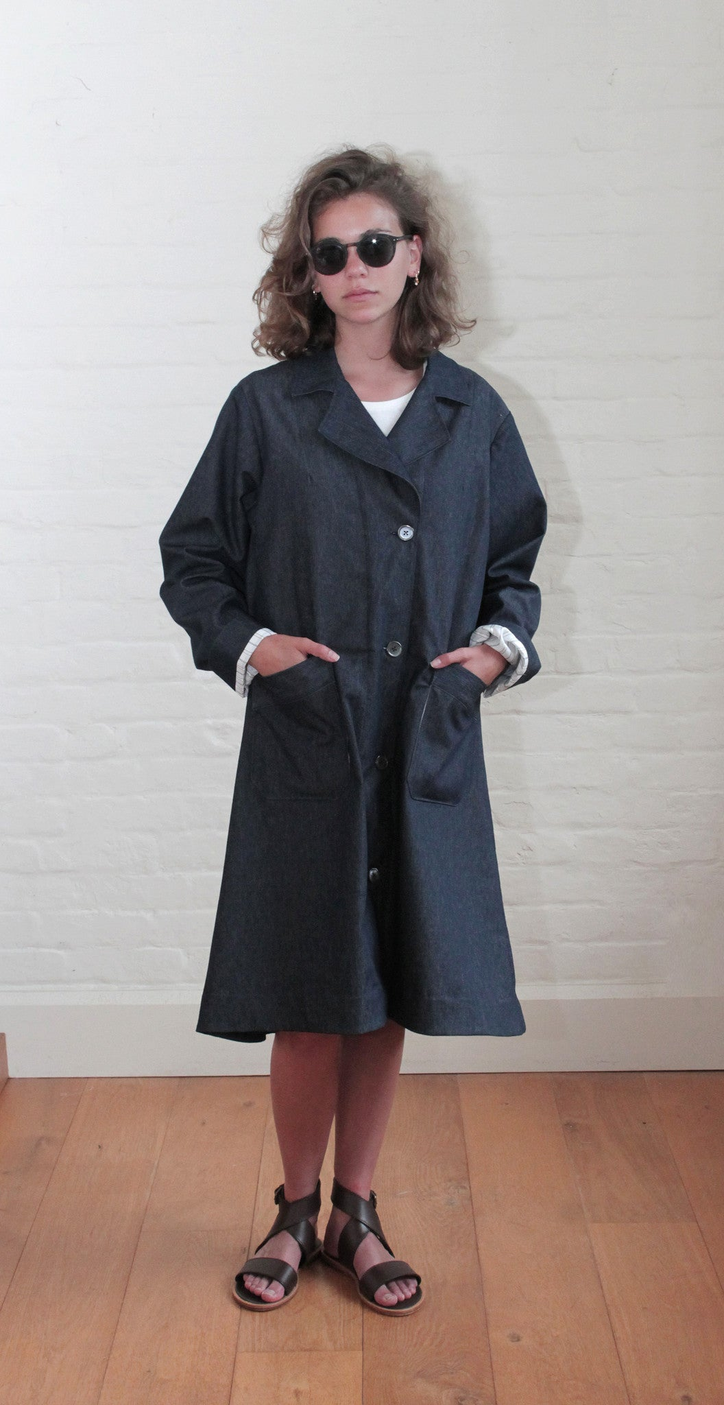 New Liberation Coat Denim