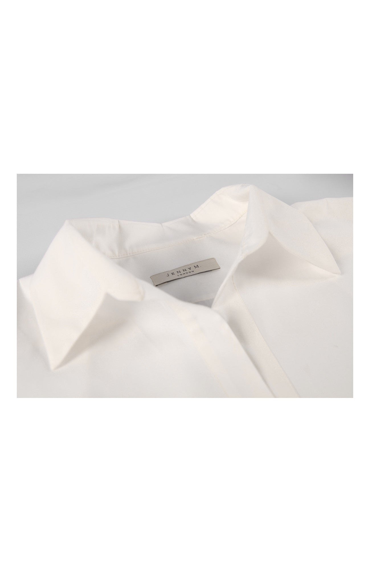 Long Shirt White - Jenny M. London  - 8