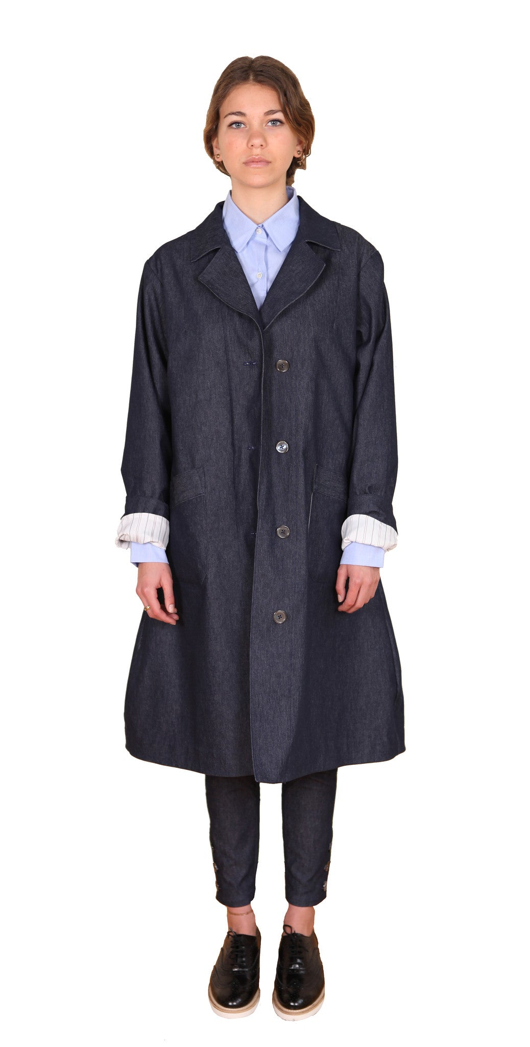 New Liberation Coat Denim - Jenny M. London  - 3