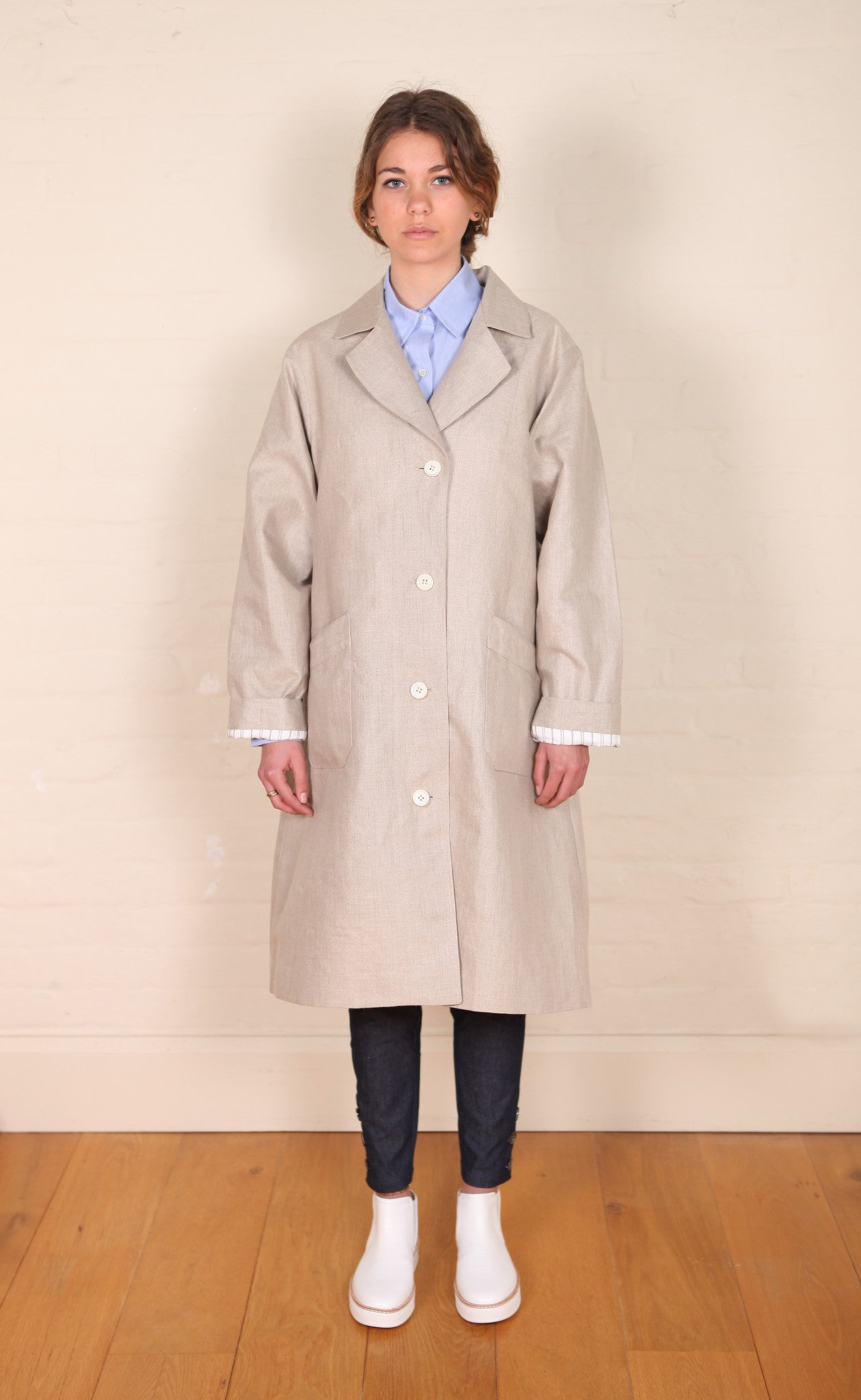 New Liberation Coat Natural