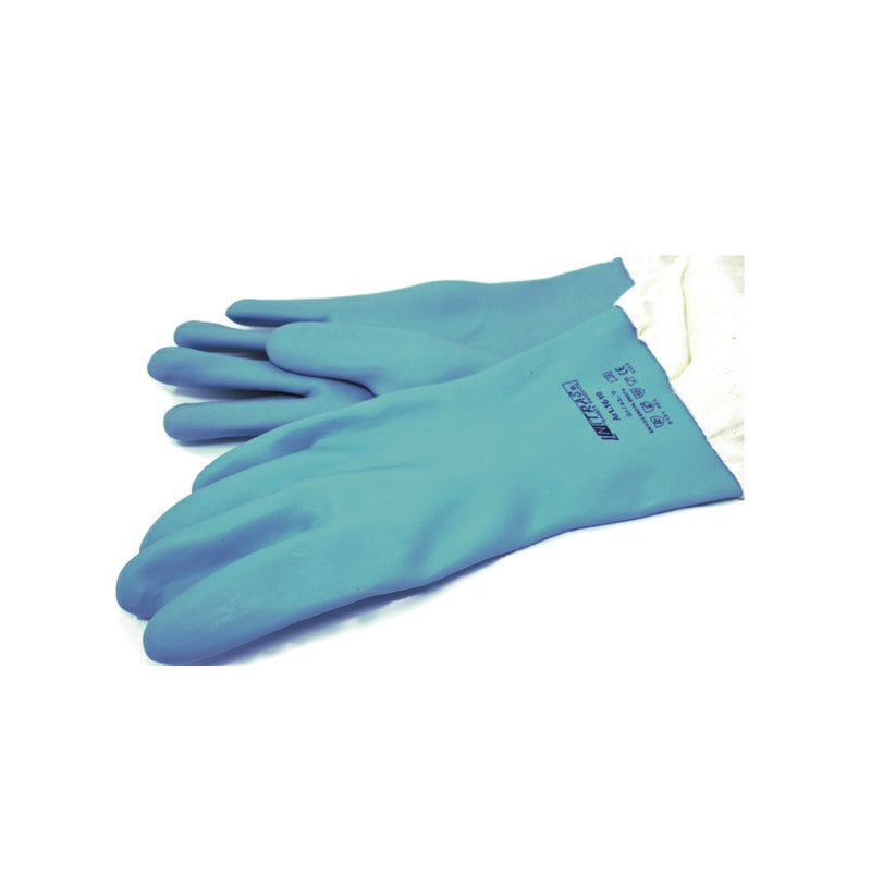 GLOVES - BLUE PLASTIC