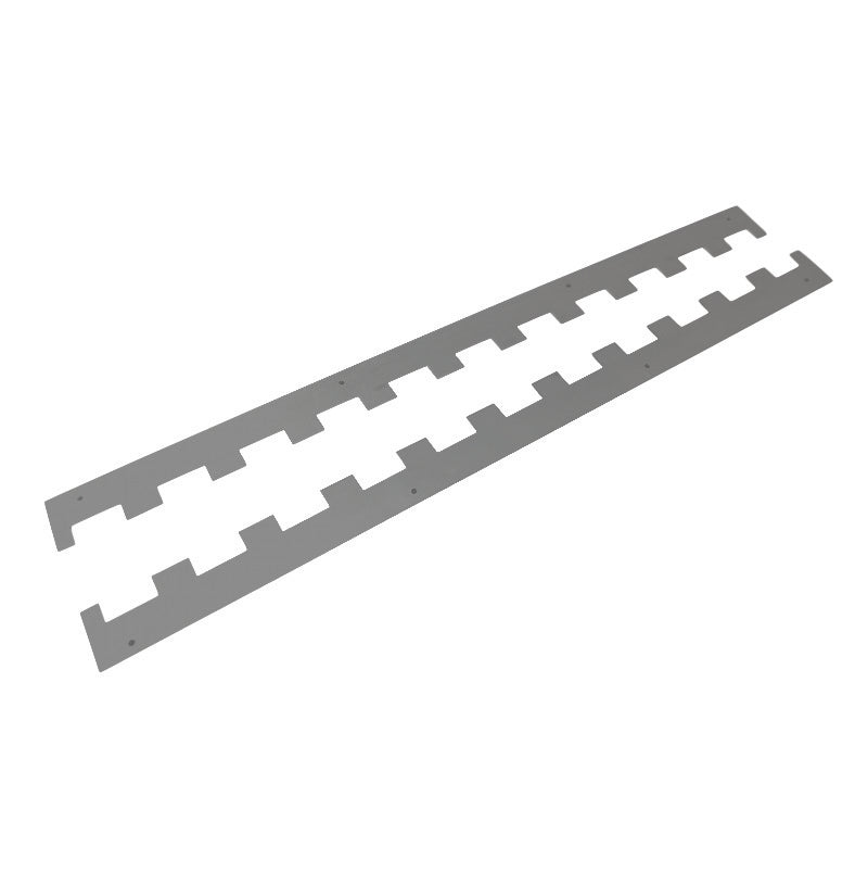 CASTELLATED SPACERS (PAIR)