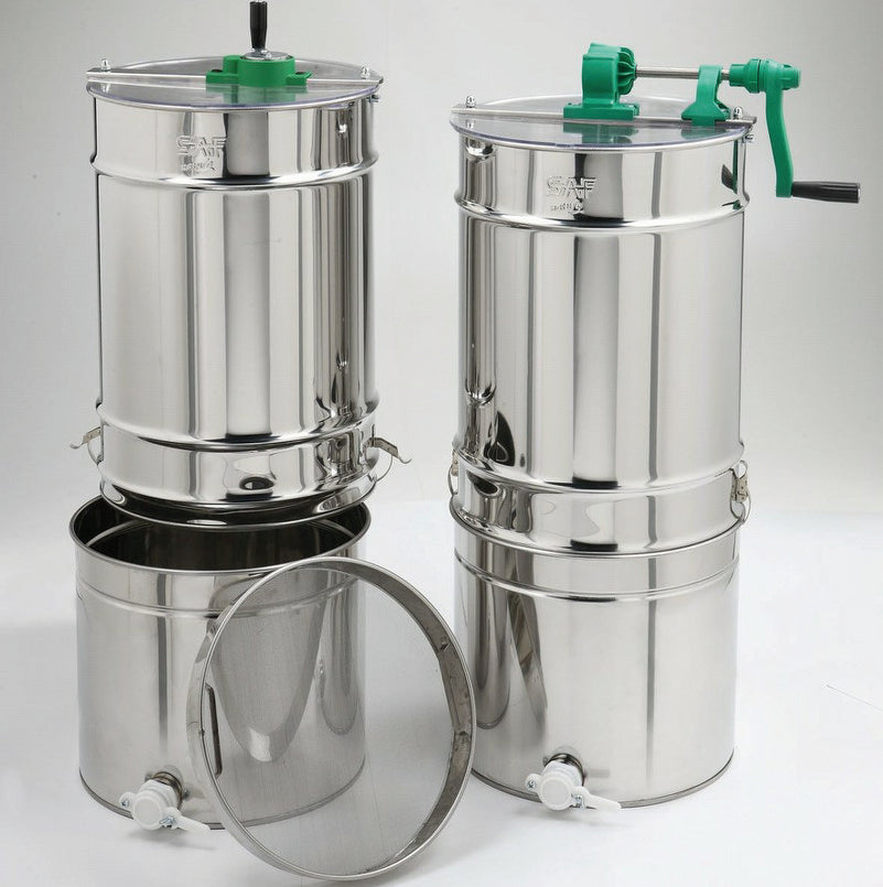 4 FRAME EXTRACTOR WITH STRAINER TANK