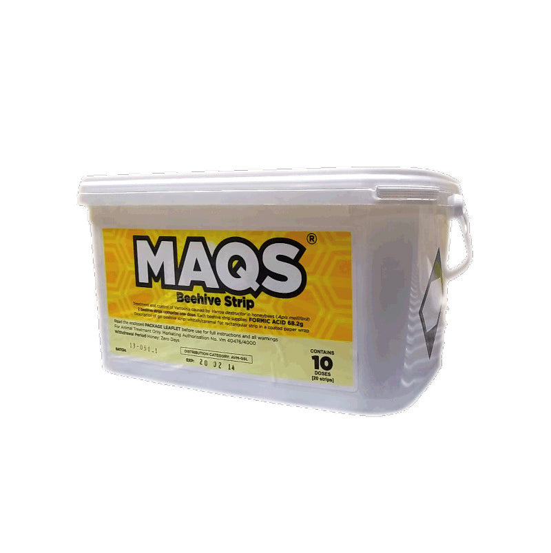 MAQS - (BUCKET 10 HIVES)
