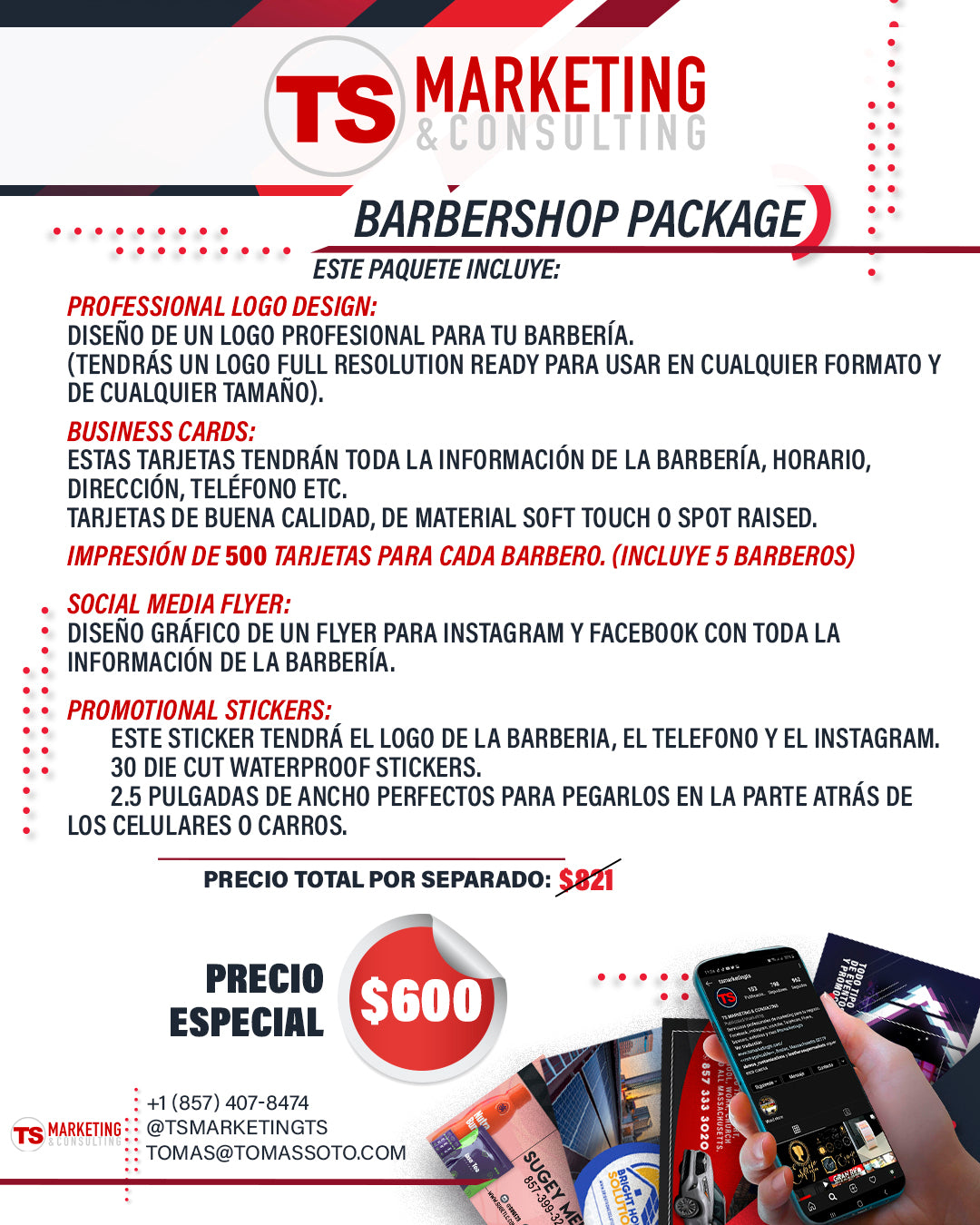 BARBERSHOP PACKAGE