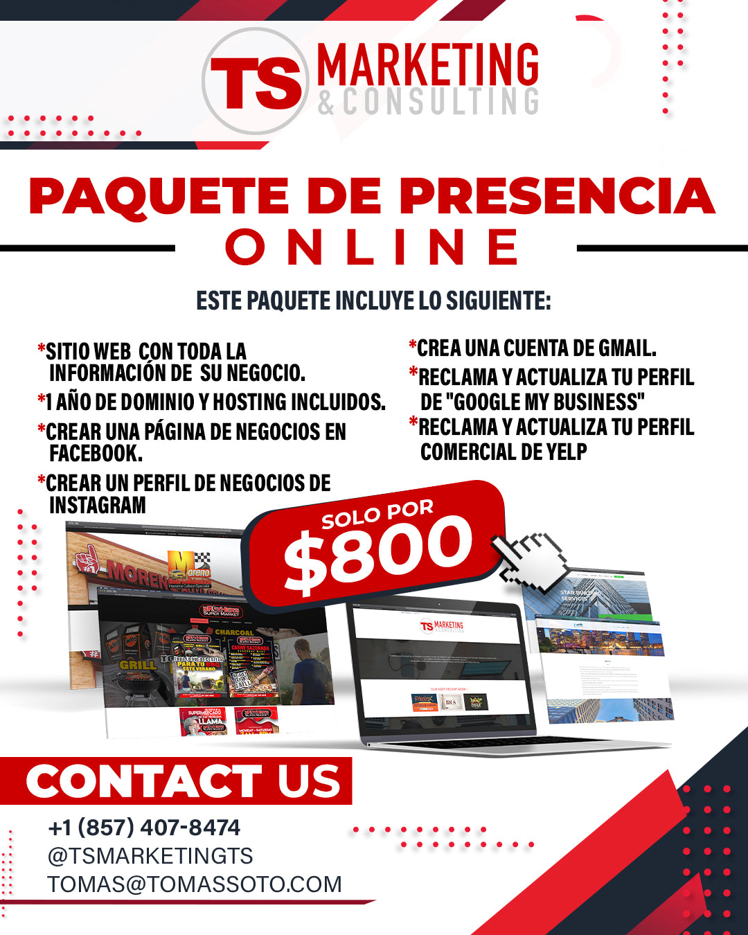 ONLINE PRESENCE PACKAGE