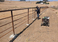 Welding-Fence repair at Brazil Dairy, 2020