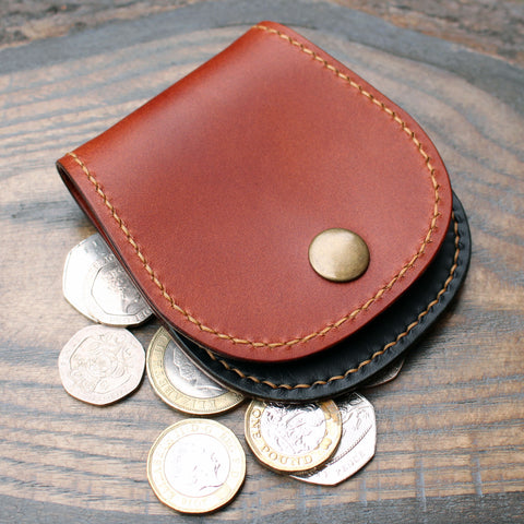 Cash pouch in Buttero leathers