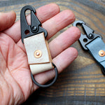 Ghost leather military spring clip - Buck&Hide