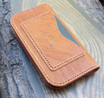 Long Trucker wallet in Horween Dublin. - Buck&Hide