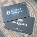 RFID/NFC blocking card, credit card protector. - Buck&Hide