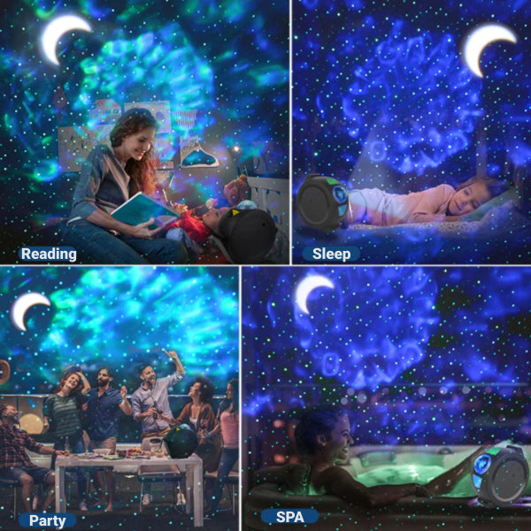 Starry Sky Galaxy Projector - MagicProjo™