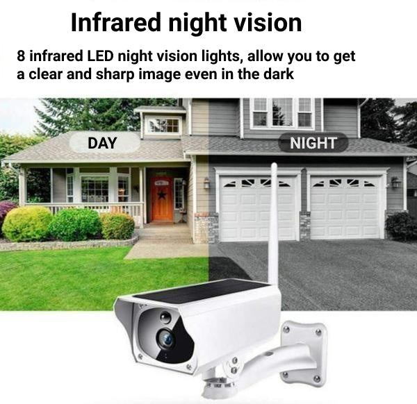 Wireless Solar Surveillance Camera CameSafe™