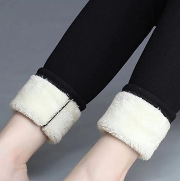 Women's Polar Fleece Leggings for Winter