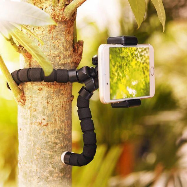 Flexible Tripod with Bluetooth Remote Control