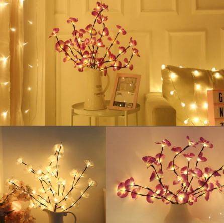 LED Orchid Branch Light