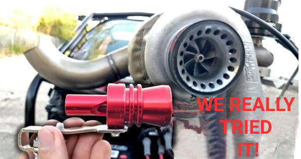 Turbo exhaust system for cars and motorbikes