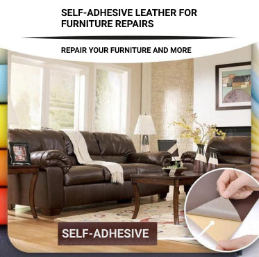 Self-adhesive Leather Patch For Sofa and Car Repairs