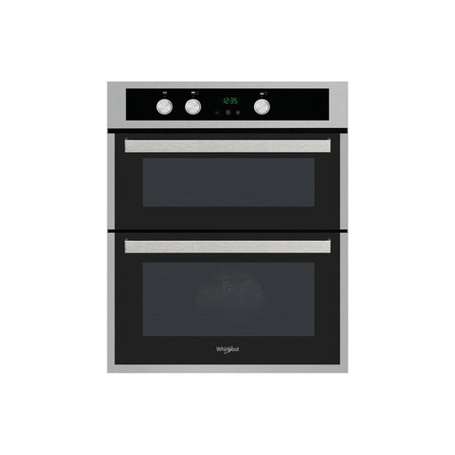 Whirlpool AKL307IX B/U Double Electric Oven - Stainless Steel