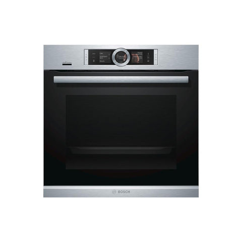Bosch Serie 8 HRG6769S6B Built In Single Pyrolytic Oven w/Steam - Stainless Steel