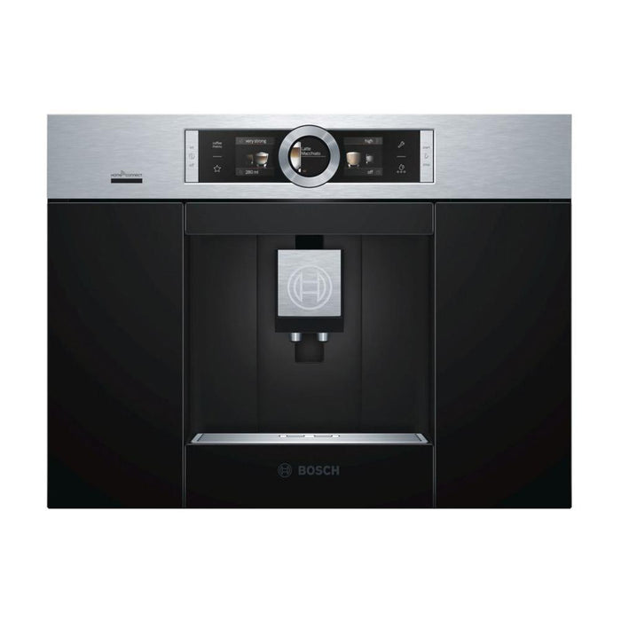 Bosch Serie 8 CTL636ES6 Fully Automatic Coffee Machine - Stainless Steel