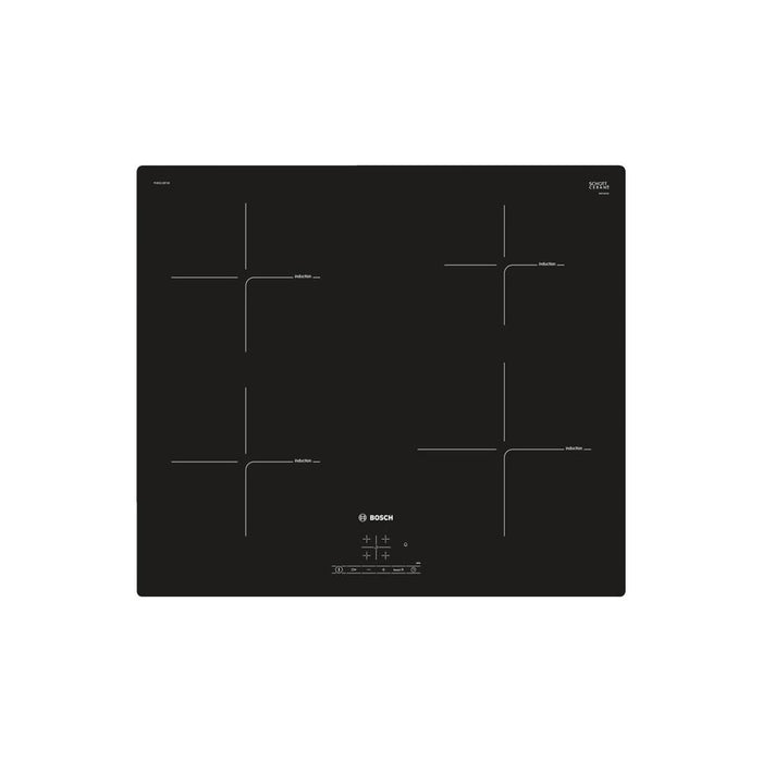 Bosch Serie 4 PUE611BF1B 60cm Induction Hob - Black