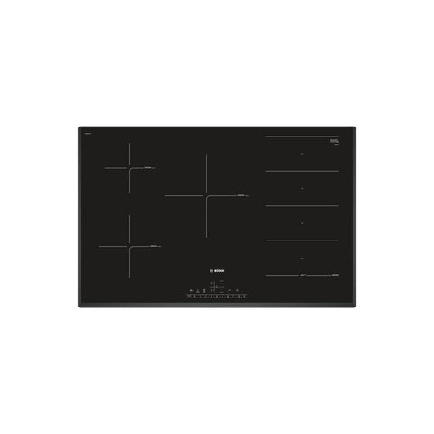 Bosch Serie 6 PXV851FC1E 80cm Flex Induction Hob - Black