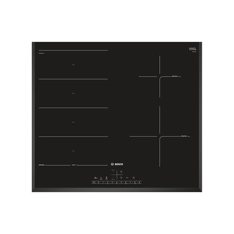 Bosch Serie 6 PXE651FC1E 60cm Flex Induction Hob - Black