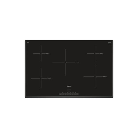 Bosch Serie 6 PIV851FB1E 80cm Induction Hob - Black