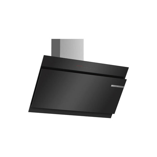 Bosch Serie 6 DWK97JQ60B 90cm Angled Glass Chimney Hood - Black