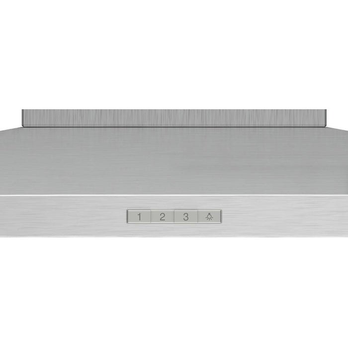 Bosch Serie 2 Slim Pyramid Chimney Hood - Brushed Steel Additional Image 2